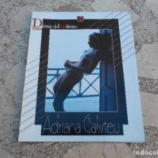 Coleccionismo de Revista Interviú: DIOSAS DEL EROTISMO Nº 7 SERIE ROJO, ADRIANA GALISTEU,POSTER 87X28. Lote 115083575