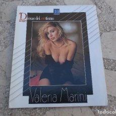 Coleccionismo de Revista Interviú: DIOSAS DEL EROTISMO Nº 10 SERIE AZUL,VALERIA MARINI,POSTER 87X28. Lote 115085471