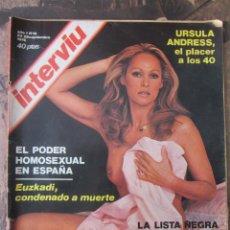 Coleccionismo de Revista Interviú: REVISTA INTERVIU. AÑO 1. Nº 19. 1976. Lote 115287415