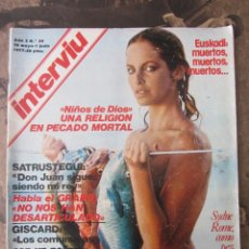 Coleccionismo de Revista Interviú: REVISTA INTERVIU. AÑO2. Nº 54. 1977. Lote 115287871