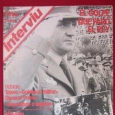 Coleccionismo de Revista Interviú: INTERVIU EXTRA. EL GOLPE QUE PARÓ EL REY.. Lote 115338259