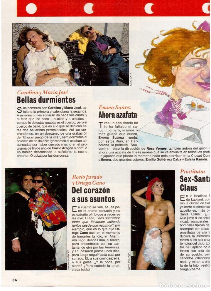 Coleccionismo de Revista Interviú: patricia perez.gran wyoming.rocio jurado.julio alberto.cruyff.claudia schiffer. - Foto 5 - 115930275