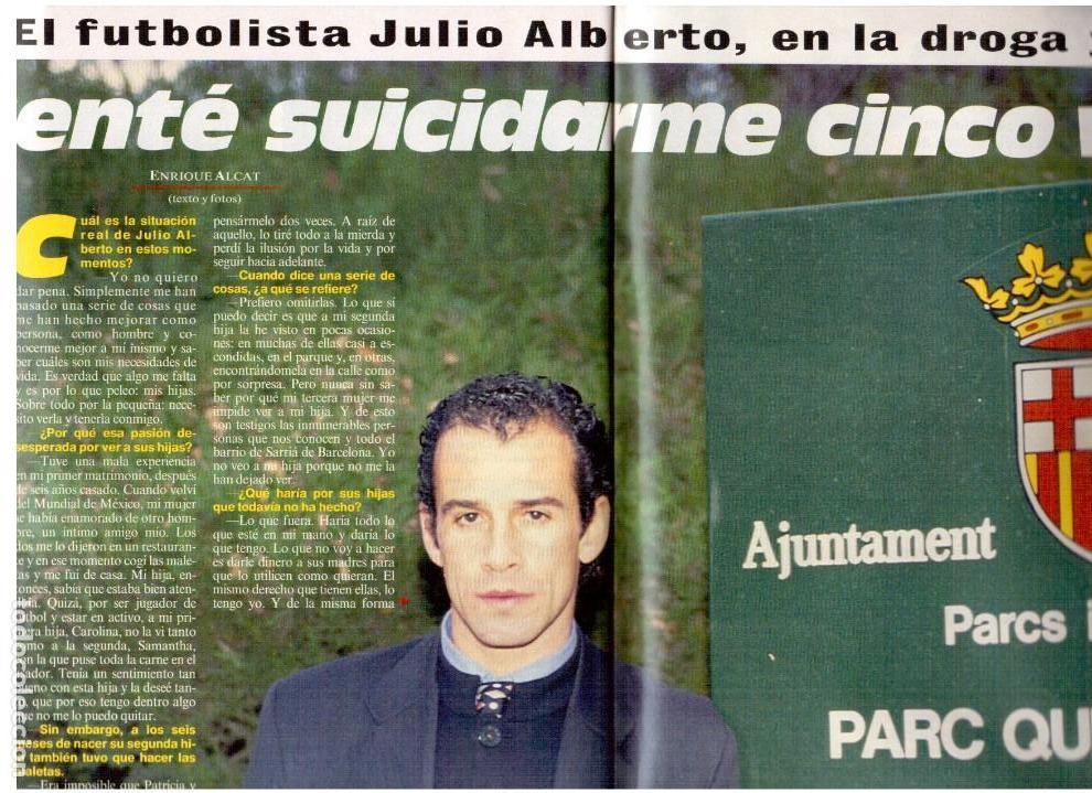 Coleccionismo de Revista Interviú: patricia perez.gran wyoming.rocio jurado.julio alberto.cruyff.claudia schiffer. - Foto 7 - 115930275
