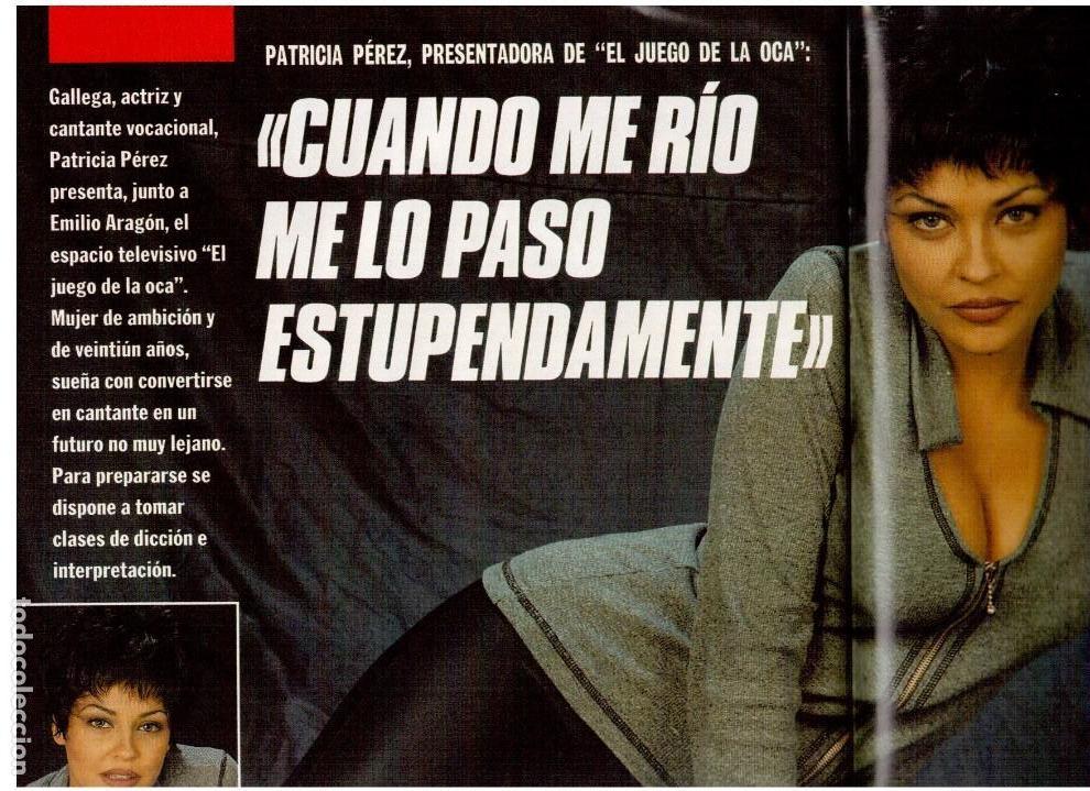 Coleccionismo de Revista Interviú: patricia perez.gran wyoming.rocio jurado.julio alberto.cruyff.claudia schiffer. - Foto 3 - 115930275