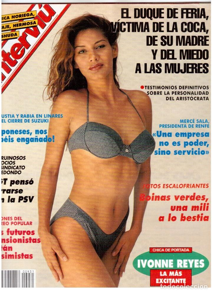 Coleccionismo de Revista Interviú: IVONNE REYES. LA MÁS EXCITANTE. - Foto 4 - 115952063