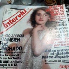 Coleccionismo de Revista Interviú: REVISTA INTERVIÚ NÚMERO 250 AÑO 6. Lote 116124851