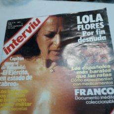 Coleccionismo de Revista Interviú: REVISTA INTERVIÚ NÚMERO 383 AÑO 8. Lote 116127336