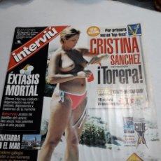 Coleccionismo de Revista Interviú: REVISTA INTERVIÚ NÚMERO 1268 AÑO 24. Lote 116144882