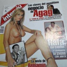 Coleccionismo de Revista Interviú: REVISTA INTERVIÚ NÚMERO 1403 AÑO 27. Lote 116147419