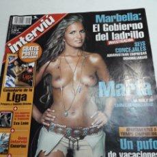 Coleccionismo de Revista Interviú: REVISTA INTERVIÚ NÚMERO 1426 AÑO 27. Lote 116148979