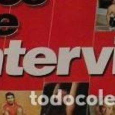 Coleccionismo de Revista Interviú: INTERVIU LOTE 9 REVISTAS 5,9,13,14,15,17,70,93 Y 20 AÑOS DE INTERVIU. Lote 117169995
