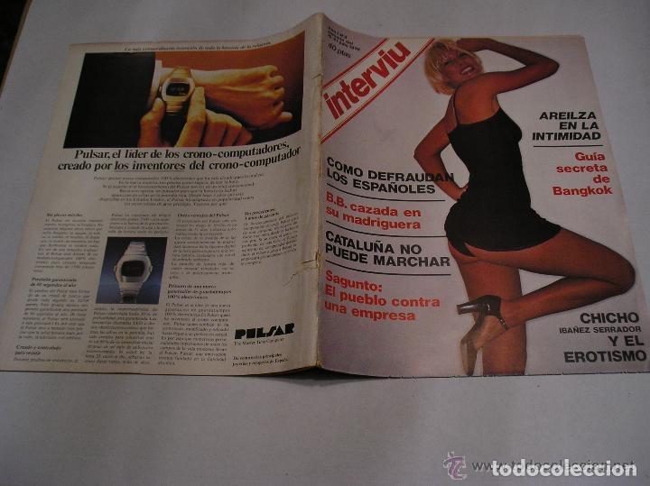 Coleccionismo de Revista Interviú: interviu lote 9 revistas 5,9,13,14,15,17,70,93 y 20 años de interviu - Foto 5 - 117169995