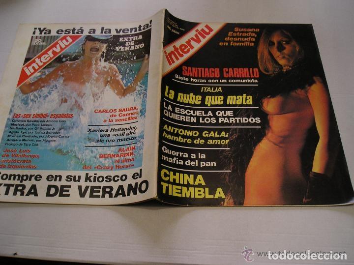 Coleccionismo de Revista Interviú: interviu lote 9 revistas 5,9,13,14,15,17,70,93 y 20 años de interviu - Foto 7 - 117169995