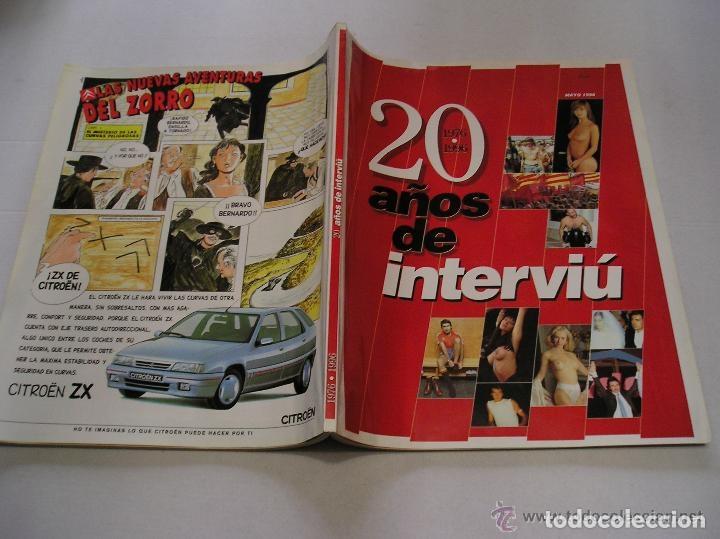 Coleccionismo de Revista Interviú: interviu lote 9 revistas 5,9,13,14,15,17,70,93 y 20 años de interviu - Foto 15 - 117169995
