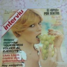 Coleccionismo de Revista Interviú: INTERVIU BARBARA REY AÑO 2 NUMERO 44 1977. Lote 117442615
