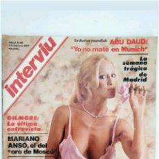 Coleccionismo de Revista Interviú: REVISTA INTERVIU N°38 DOMINIQUE SANDA 1977. Lote 118039079