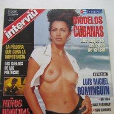 Coleccionismo de Revista Interviú: REVISTA INTERVIU Nº 1046 AÑO 1996. PORTADA: MODELO CUBANAS. ESPECIAL MIGUEL DOMINGUIN. CSA113. Lote 118648703