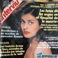 Coleccionismo de Revista Interviú: PAMELA BORDES. NÚMERO 677. MAYO 1989. Lote 143379490