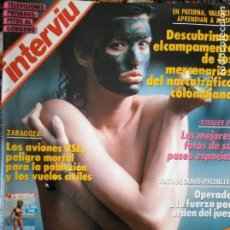 Coleccionismo de Revista Interviú: JANICE DICKINSON. NÚMERO 696. SEPTIEMBRE 1989. Lote 119453651