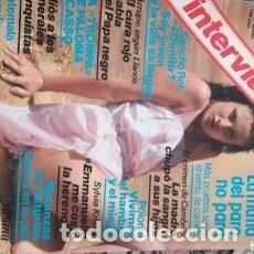 Coleccionismo de Revista Interviú: REVISTA INTERVIU 275 * AGOSTO 1981 * SUSANA ESTRADA * SANCHO ROF * SYLVIA KRISTEL * 31. Lote 120790363