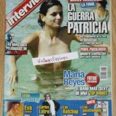 Coleccionismo de Revista Interviú: INTERVIU #1367 2002 MARIA REYES MISS ESPAÑA SPAIN DESNUDA ALASKA LAS KETCHUP. Lote 122094479