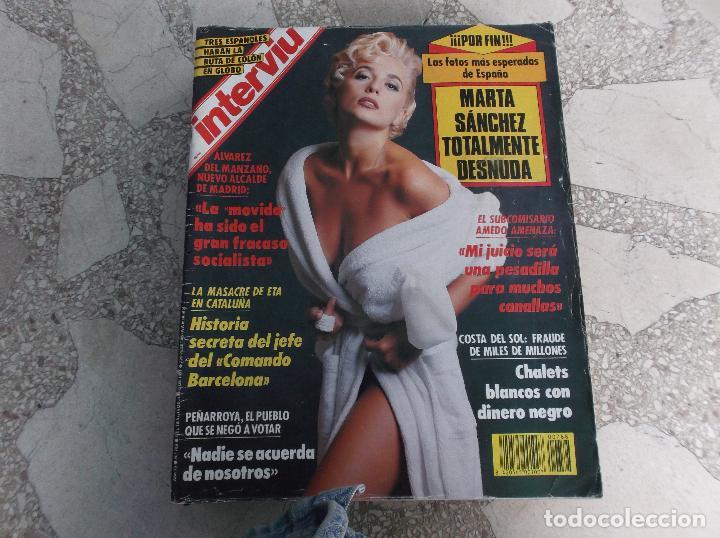 Interviu Nº 788 Marta Sanchez Totalmente Desnu Sold Through