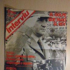 Coleccionismo de Revista Interviú: INTERVIU EXTRA. EL GOLPE QUE PARÓ EL REY. Lote 123060455