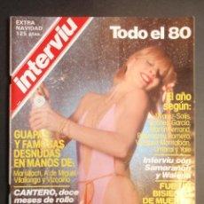 Coleccionismo de Revista Interviú: INTERVIU EXTRA NAVIDAD 1980.. Lote 123435815