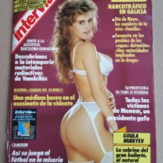 Coleccionismo de Revista Interviú: REVISTA INTERVIÚ Nº 738 AÑO 1990. Lote 123469547