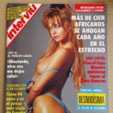 Coleccionismo de Revista Interviú: REVISTA INTERVIÚ Nº 843 AÑO 1992. Lote 124417011