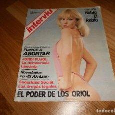 Coleccionismo de Revista Interviú: INTERVIU Nº 33 FUIMOS A ABORTAR. EL PODER DE LOS ORIOL.. Lote 126016447