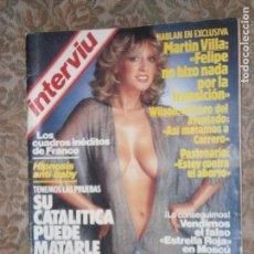 Coleccionismo de Revista Interviú: (F.1) INTERVIÚ Nº 397 AÑO 1983( PASIONARIA,EN SU OCHENTA Y OCHO CUMPLEAÑOS:ESTOY EN CONTRA EL ABORTO. Lote 127216459