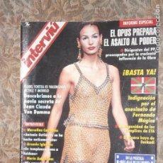 Coleccionismo de Revista Interviú: (F.1) INTERVIÚ Nº 1033 AÑO 1996( J.L.COLL,HUMORISTA:EL SER HUMANO NO TIENE ARREGLO. Lote 127216819
