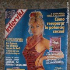 Coleccionismo de Revista Interviú: (F.1) INTERVIÚ Nº 642 AÑO 1988( M.EL GADAFI:ESPAÑA NO DEBE TRAICIONAR SU HERMANDAD HISTORICA CON LA. Lote 127217447