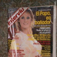 Coleccionismo de Revista Interviú: (F.1) INTERVIÚ Nº 277 AÑO 1981( GENERALES EN POSICIÓN DE DESCANSO: G.MELLADO: SOY UN JUBILADO. Lote 127217659