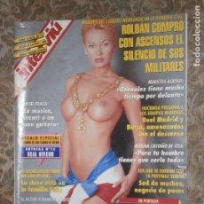 Coleccionismo de Revista Interviú: (F.1) INTERVIÚ Nº 992 AÑO 1995( FRANCISCO BORRAS..EL ÉXITO DE UN DESNUDO ESTÁ EN LOS PECHOS. Lote 127613827