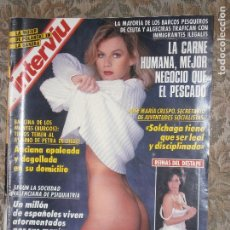 Coleccionismo de Revista Interviú: (F.1) INTERVIÚ Nº 860 AÑO 1992( FERNANDO SANCHEZ DRAGÓ,GANADOR DEL PREMIO PLANETA CON LA NOVELA. Lote 127614167