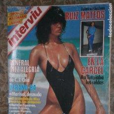Coleccionismo de Revista Interviú: (F.1) INTERVIÚ Nº 429 AÑO 1984 (AMPLIO REPORTAJE AL GENERAL DIEZ-ALEGRE O EL EQUILIBRIO. Lote 127614599