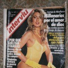 Coleccionismo de Revista Interviú: (F.1) INTERVIÚ Nº 327 AÑO 1982 (LA DUQUESA DE ALBA ..SOMOS SENCILLAMENTE AMANTE... Lote 127614823