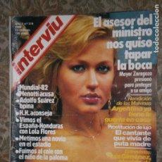 Coleccionismo de Revista Interviú: (F.1) INTERVIÚ Nº 319 AÑO 1982 (ASESINADO EL CURA DE CALPE TENÍA UN TESORO EN CASA..ESTA TABLA ES . Lote 127615571