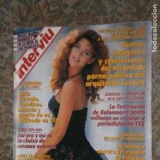 Coleccionismo de Revista Interviú: (F.1) INTERVIÚ Nº 706 AÑO 1989(BUENOS AIRES LUJO ASIÁTICO Y PROVOCADOR EN LA BODA DEL ..PELUSA... Lote 127616567
