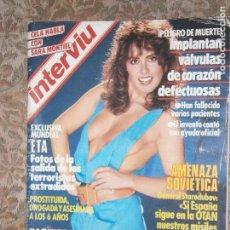 Coleccionismo de Revista Interviú: (F.1) INTERVIÚ Nº 439 AÑO 1984( SARA MONTIEL,LA VOZ QUE DESTILA ESTRÓGENO POR CAMILO JOSÉ CELA. Lote 127617891