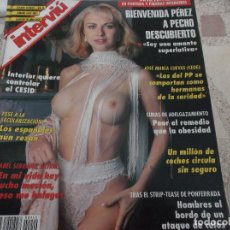 Coleccionismo de Revista Interviú: INTERVIU Nº 940. BIENVENIDA PEREZ. ISABEL SERRANO. JULIO ALBERTO, FUTBOLISTA. MARY LIBERTY. I. GEMIO. Lote 195176193