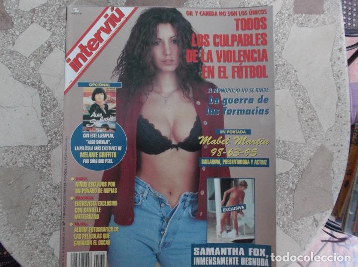 Interviu Nº 1038samantha Fox Desnuda Mabel Ma Sold Through