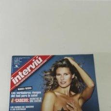 Coleccionismo de Revista Interviú: INTERVIU ANNE IGARTIBURU + CALENDARIO INTERIOR. Lote 129650303