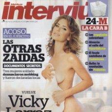 Coleccionismo de Revista Interviú: INTERVIU #2040 2015 VICKY LARRAZ OLE OLE SEXY SPAIN MEN'S MAGAZINE. Lote 130193715
