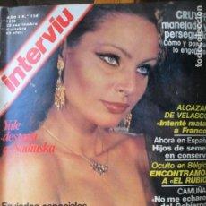 Coleccionismo de Revista Interviú: INTERVIU Nº 124 DE 1978- NADIUSKA, CRUYFF, CUBA, NICARAGUA, JOAQUÍN GARRIGUES WALKER, VER +. Lote 131714310