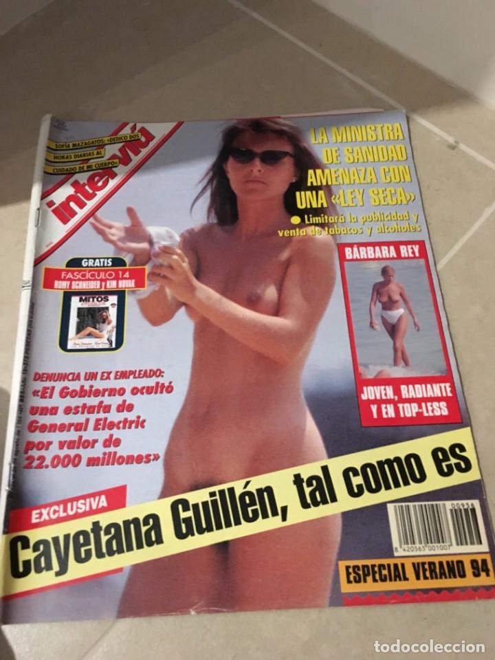 Interviu 956 Cayetana Guillén Cuervo Agosto 1994
