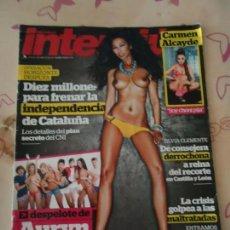 Coleccionismo de Revista Interviú: REVISTA. INTERVIÚ NÚMERO 1928 DEL 8 AL 14 DE ABRIL 2013. CON FÁNTASTICAS FOTOS.. Lote 133054254