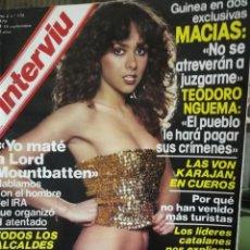 Coleccionismo de Revista Interviú: LOTE 49 REVISTAS INTERVIU ANTIGUAS. Lote 133414506